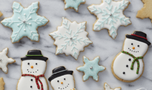 Winter Sugar Cookie Cut-Outs