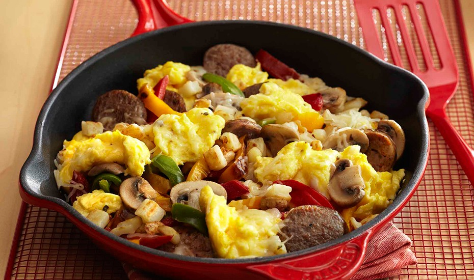 Italian Sausage Breakfast Amp Egg Skillet Incredible Egg